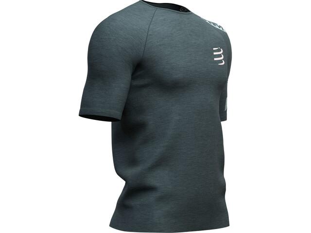 Compressport Training Kurzarm T-Shirt Herren dark grey